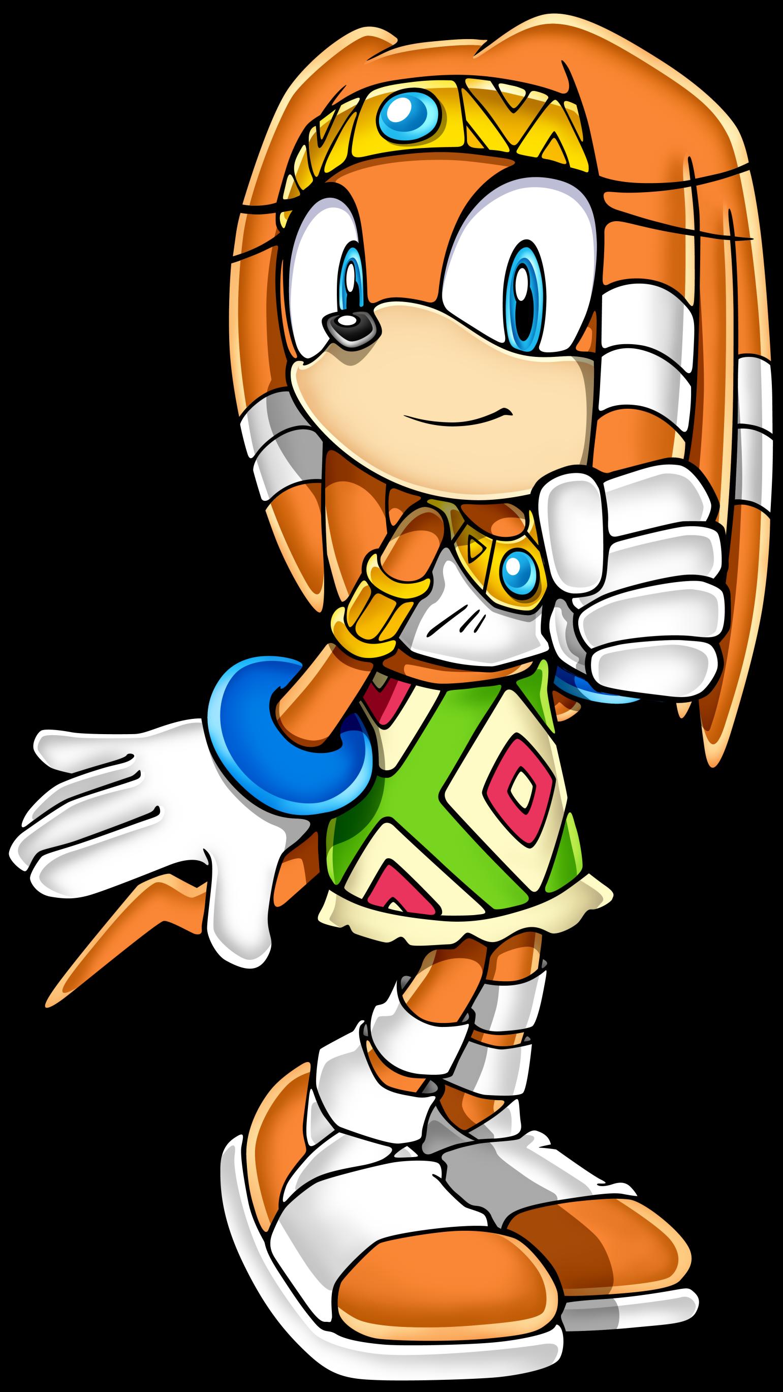1541x2738 Sonic Clipart
