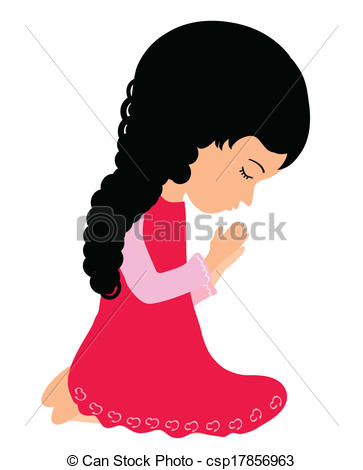 363x470 Girl Praying Clip Art Adorable Little Girl Praying Peacefully Clip
