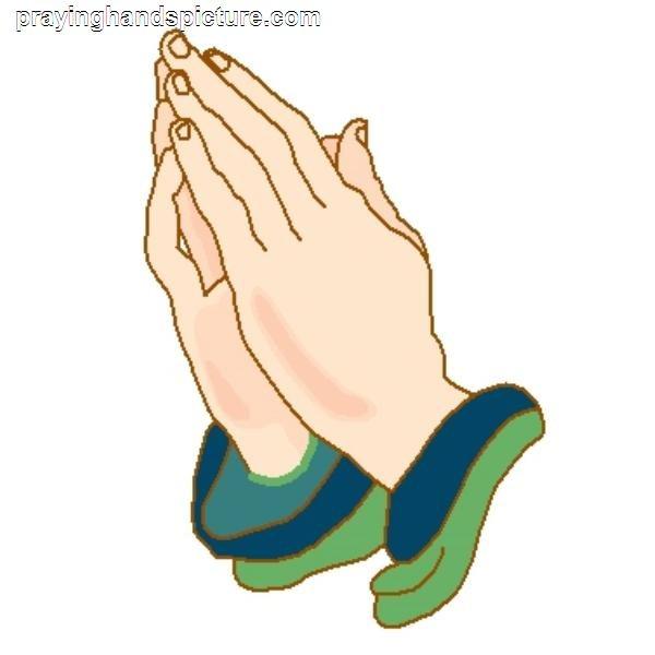 600x600 Praying Hands Cartoon Free Download Clip Art