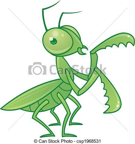 Praying Mantis Clipart