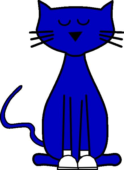 438x599 Pete The Cat Clipart