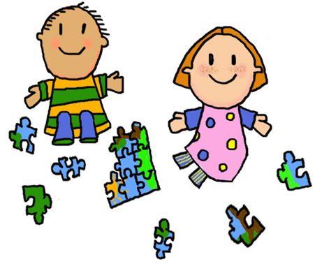 451x378 Free Pre K Clipart Autism Preschool Children Playing Cartoon