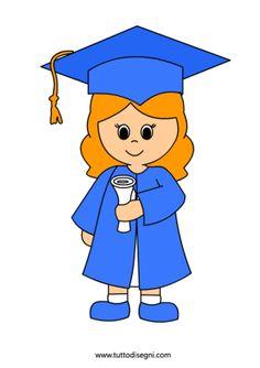 236x334 Cute girl graduation clip art Preschool Graduation Border Clip