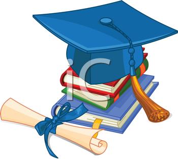 350x313 Graduation Clipart