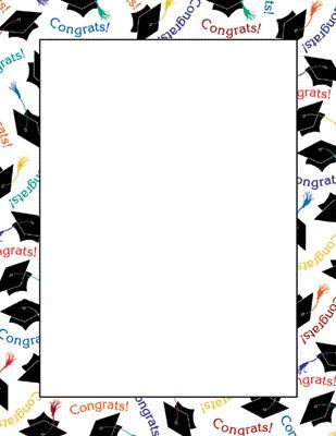 309x400 Felicitations Graduation Clip Art, Border Design And Clip Art