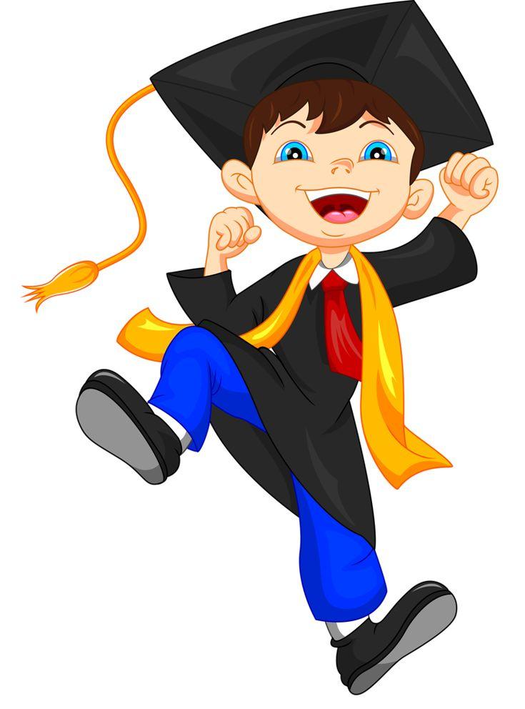 735x992 Kindergarten Graduation Clip Art Boy Graduating