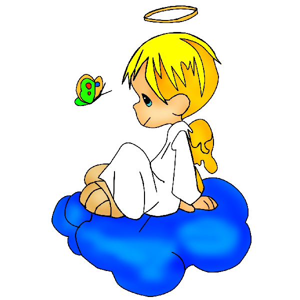 600x600 Baby Angel Clipart