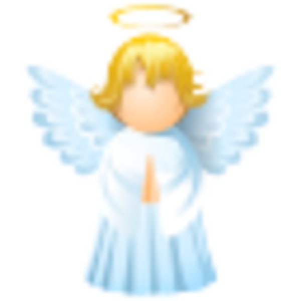 600x600 Free Angel Icon Clipart Images