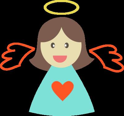 400x376 Little Angels Clipart
