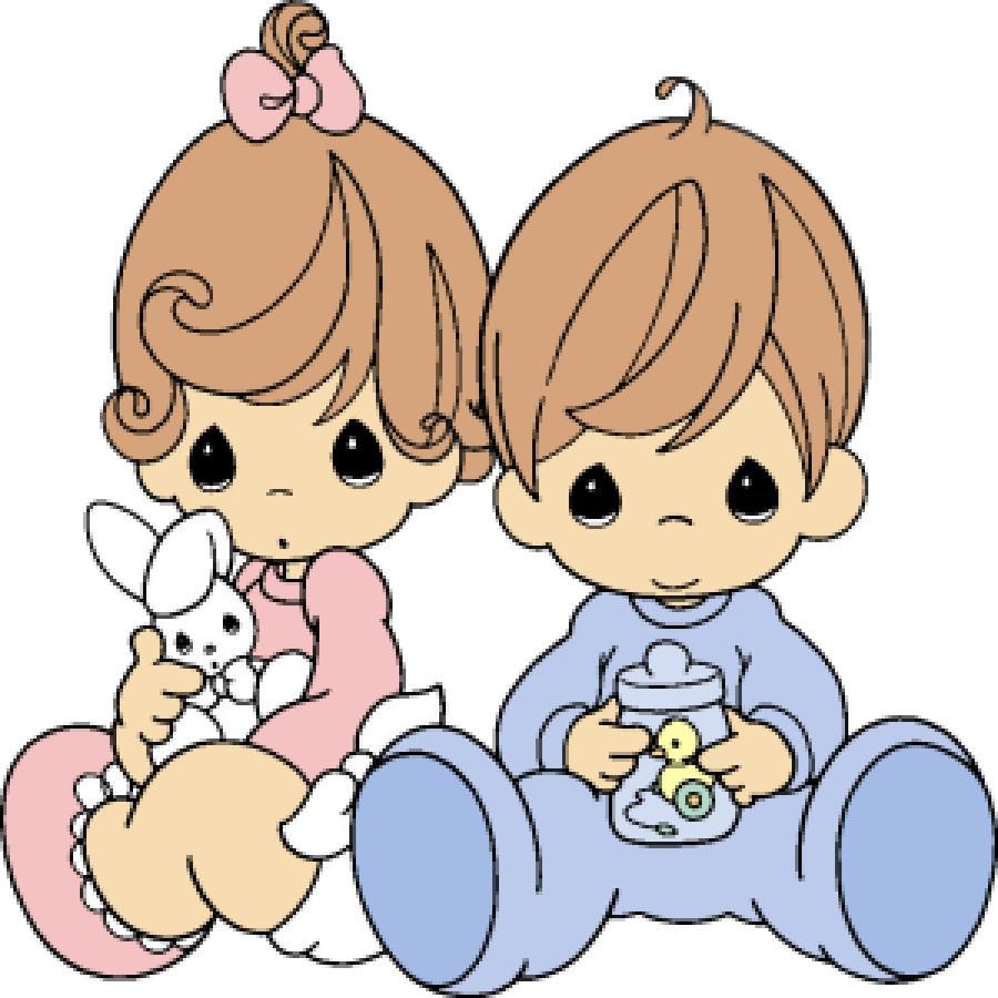 900x900 Precious Moments Baby Clipart 4f208uz Image Clip Art