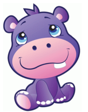 305x387 Safari Hippo By Precious Moments
