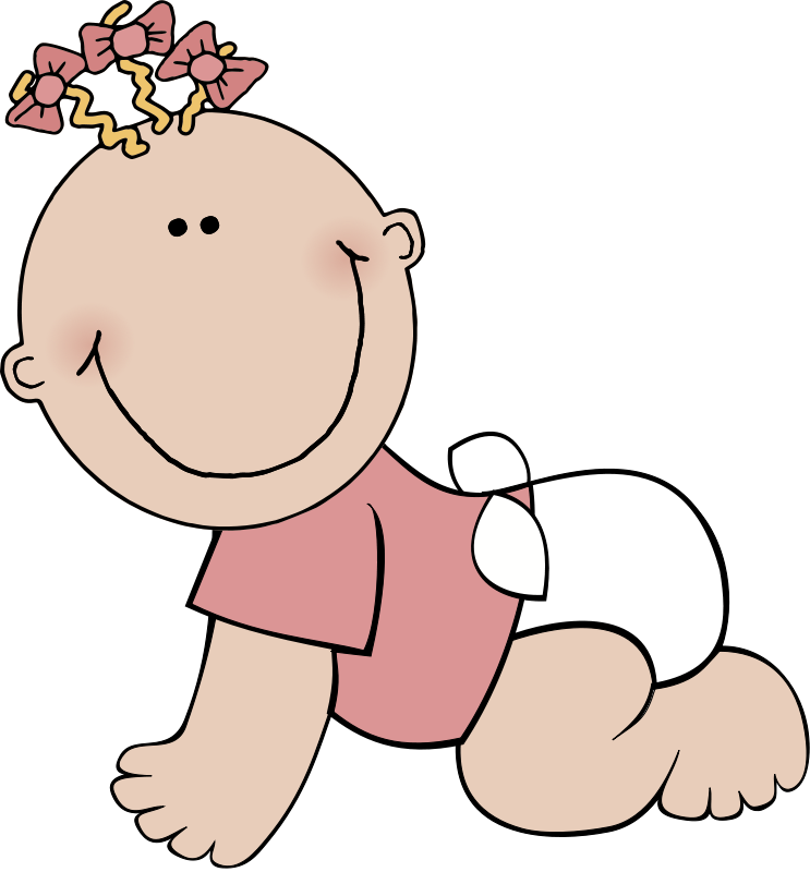 743x800 Baby Sister Clipart Collection