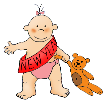 343x330 New Years Clipart