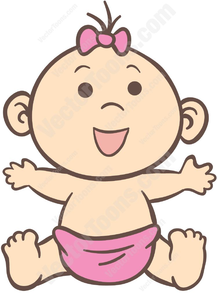 Precious Moments Baby Girl Clipart At Getdrawings Com Free For