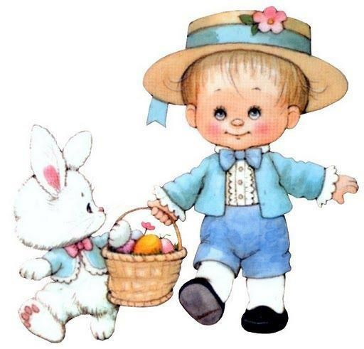 512x491 Clipart Ruth J. Morehead Illustration Easter