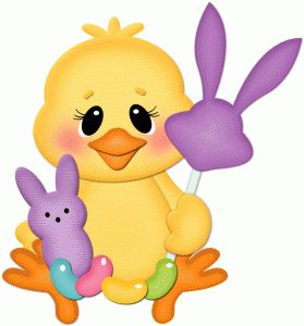 279x300 466 Best Easter Clip Art Images On Rabbits, Bunnies