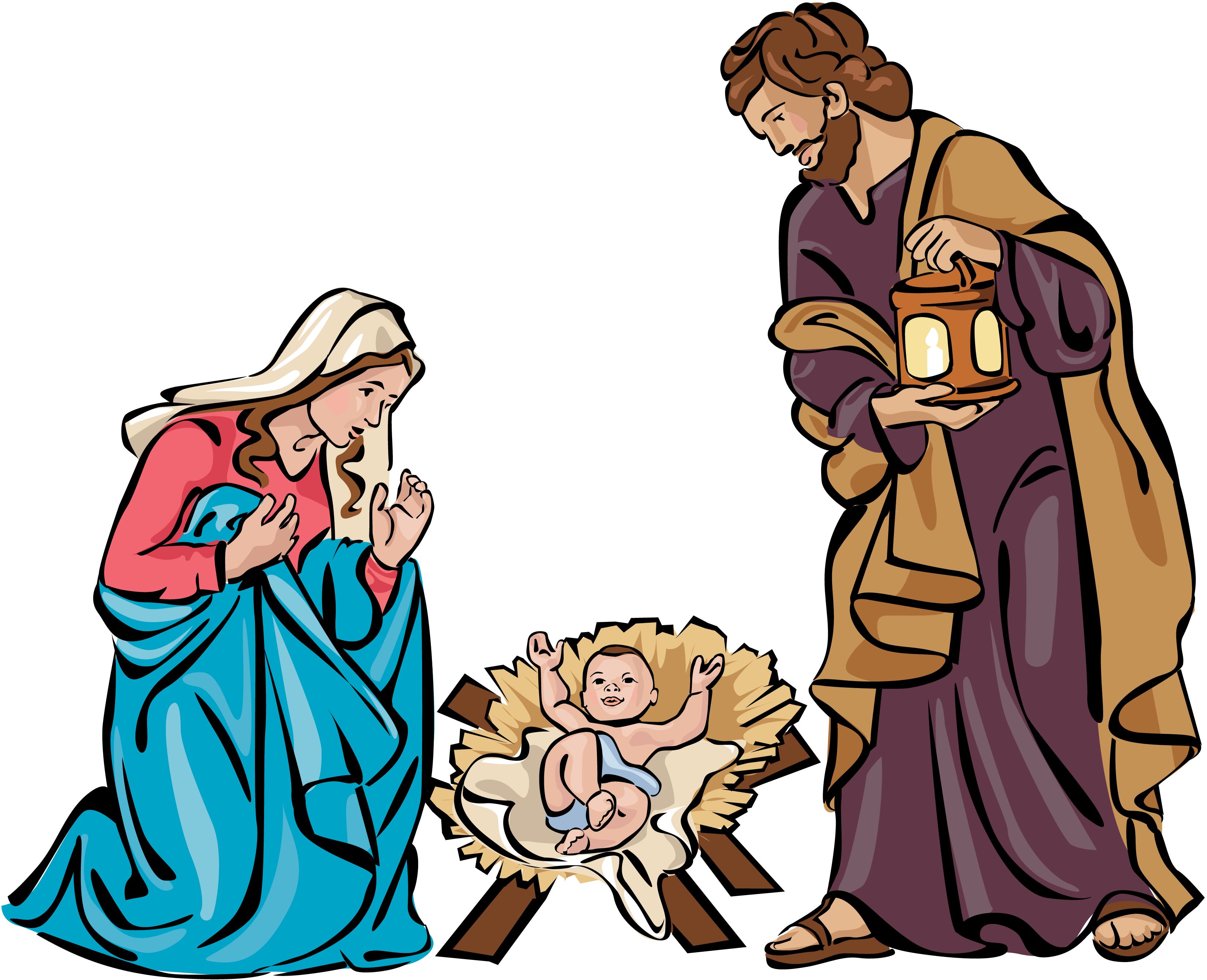 3300x2679 Collection Of Nativity Scene Clipart Png High Quality, Free