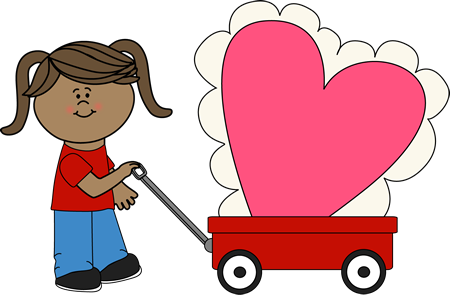 450x295 Kids Valentine Pictures Free Clip Art From Vintage Holiday Crafts
