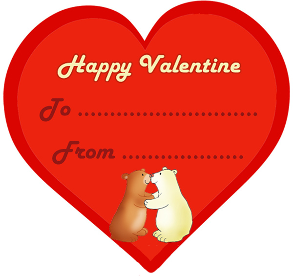 600x567 15 Funny And Cute Kids Valentine Cards