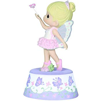 350x350 Precious Moments, Ballerina, Resin Music Box, 124110