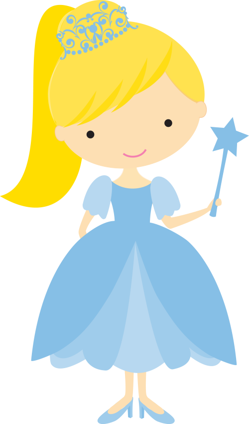 500x849 Pretty Princess Clip Art. Oh My Fiesta! In English