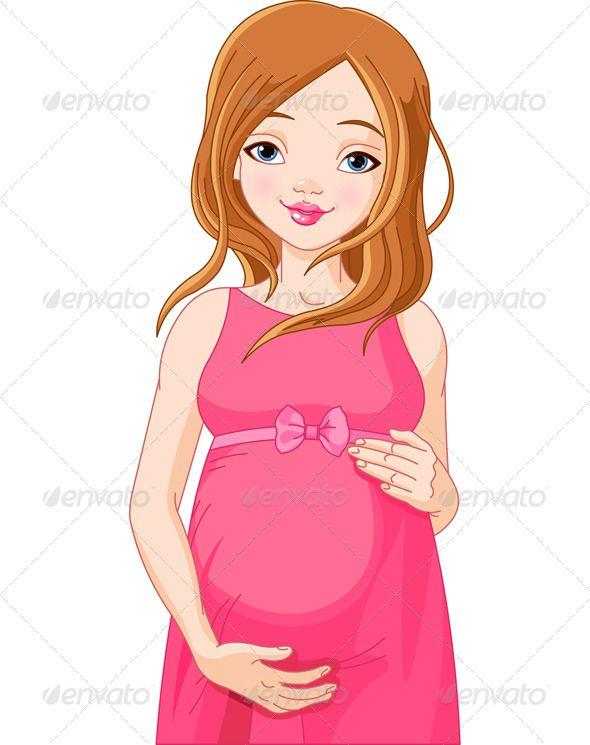 Pregnant Woman Clipart