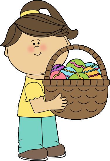 376x550 Easter Kids Clip Art