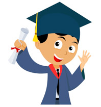 picture about Graduation Clip Art Free Printable referred to as Preschool Commencement Clipart at  Absolutely free for
