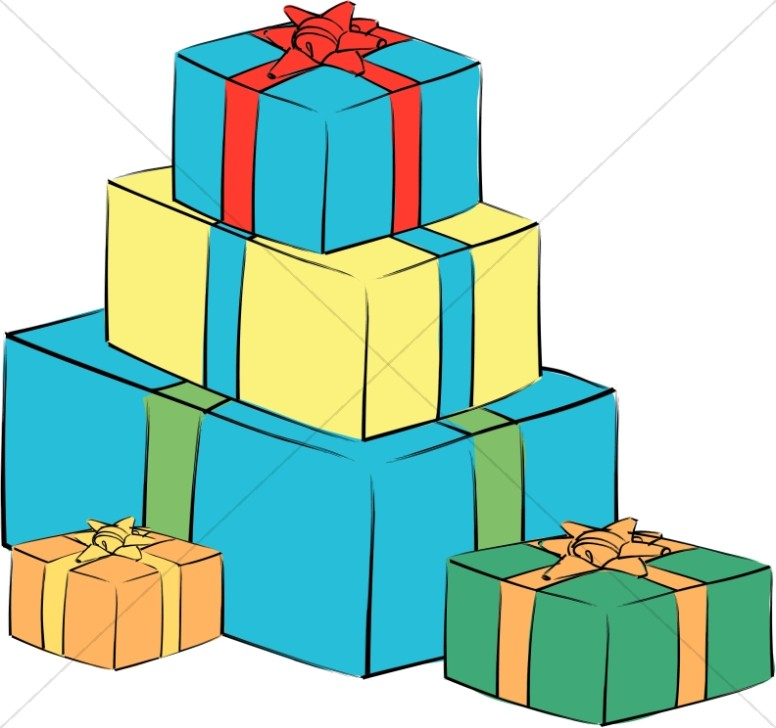 776x728 Animated Gift Box Clipart