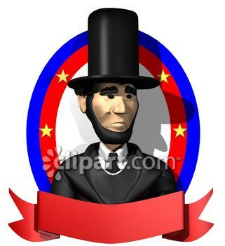 321x350 Beard Clipart Abraham Lincoln