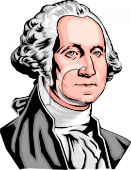 270x350 George Washington Clipart