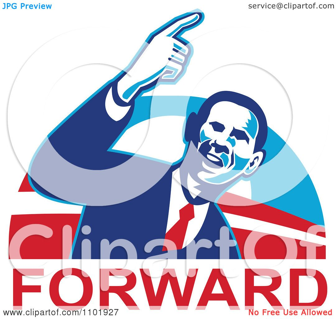 1080x1024 Clipart Barack Obama American President Over Forward Text