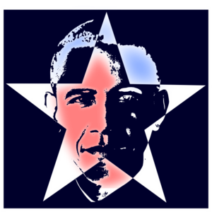 300x300 Obama Star Clip Art
