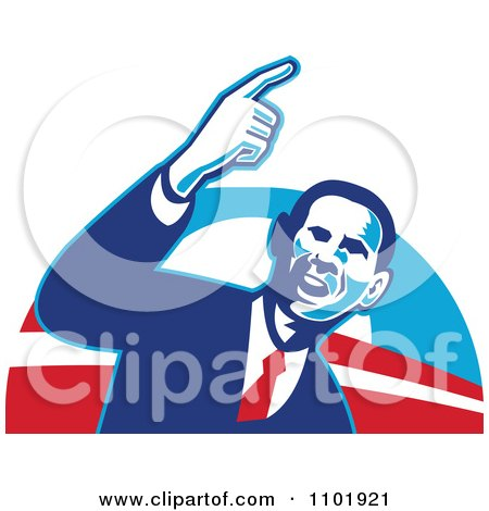 450x470 Royalty Free (Rf) Obama For President Clipart, Illustrations