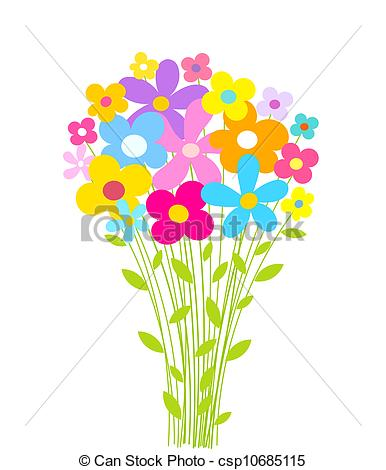 Pretty flower clipart at getdrawings free for personal use 386x470 spring flowers clip art mightylinksfo