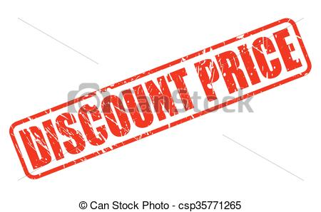 450x298 Discount Price Red Stamp Text On White Clip Art Vector