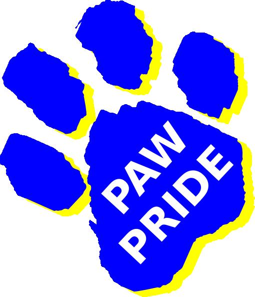 510x593 Paw Pride Clip Art