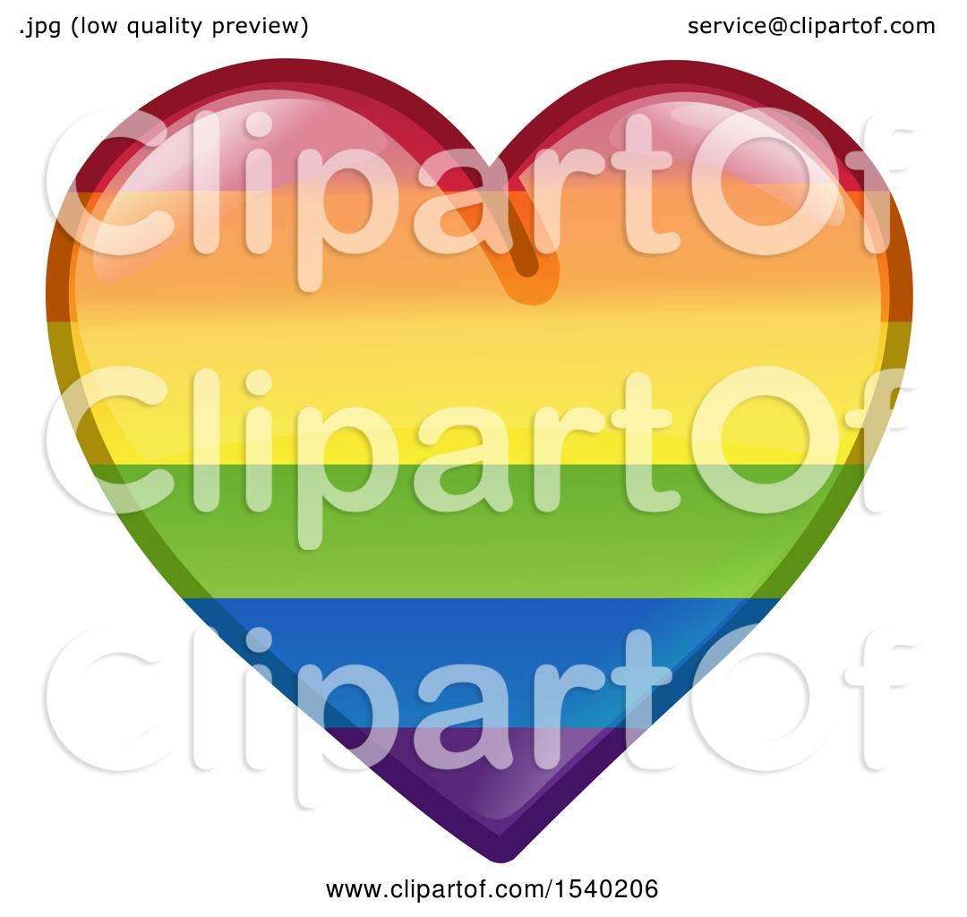 1080x1024 Clipart Of A Rainbow Flag Lgbtq Pride Love Heart
