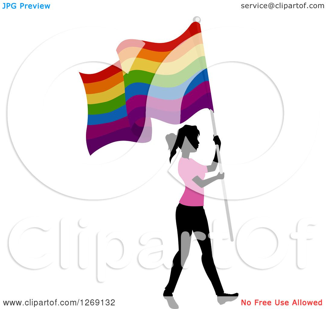 1080x1024 Clipart Of A Silhouetted Black Woman Wearing A Pink Shirt