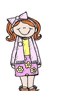 192x300 Lds Primary Girl Clipart Free Images