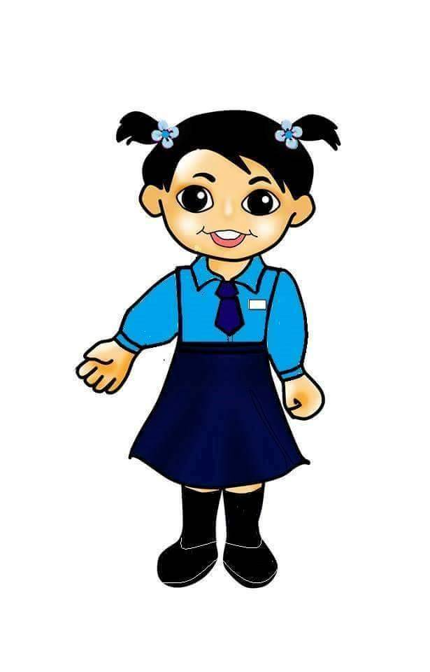 615x960 Uniform Clipart Primary Student