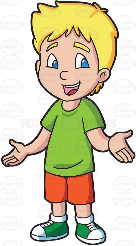 569x1024 A Male Primary School Student Looking Friendly And Warm Cartoon
