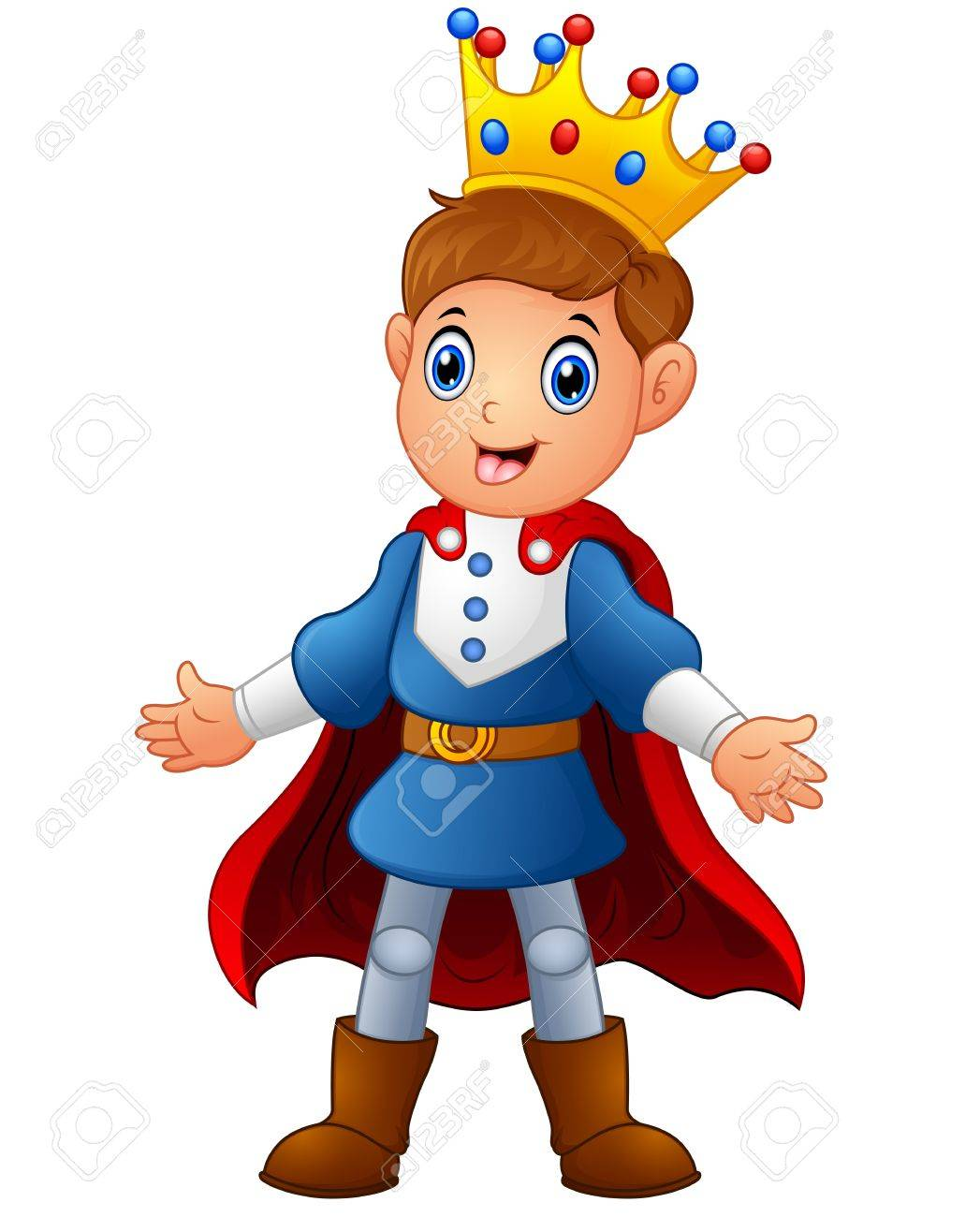 1047x1300 Strikingly Beautiful Prince Clipart Cute Boy With Red Cloak