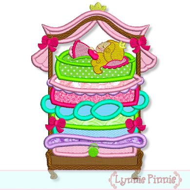 Princess And The Pea Clipart