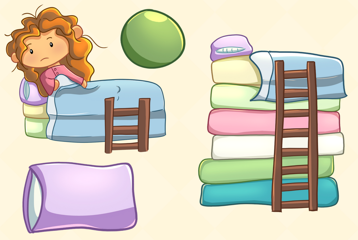 1143x766 Princess And The Pea Story Book Collect Design Bundles