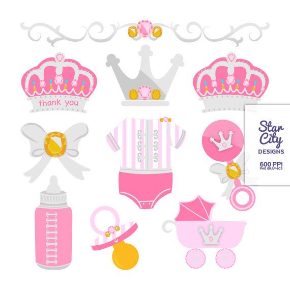 Princess Baby Clipart