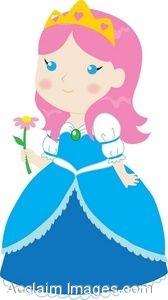 168x300 Cartoon Princess Clipart