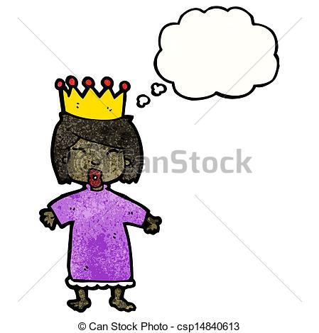 449x470 Cartoon Little Princess Vector Clip Art