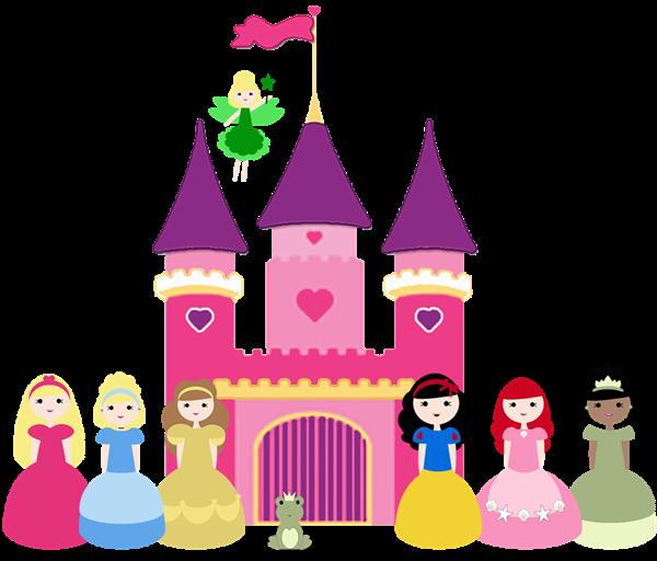 600x512 Disney Princess Castle Clip Art
