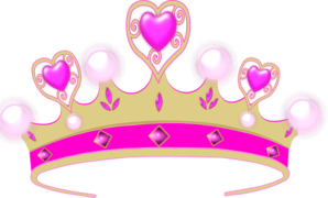 298x180 Pink Princess Crown Clip Art Clipart Panda